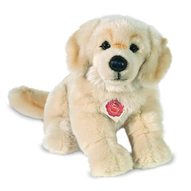 Teddy Hermann 92746 Golden Retriever aus Plüsch 30 cm