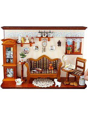 Wandbild Rosen Laden 21x23,5cm Reutter Porzellan Miniaturen 1.798//3